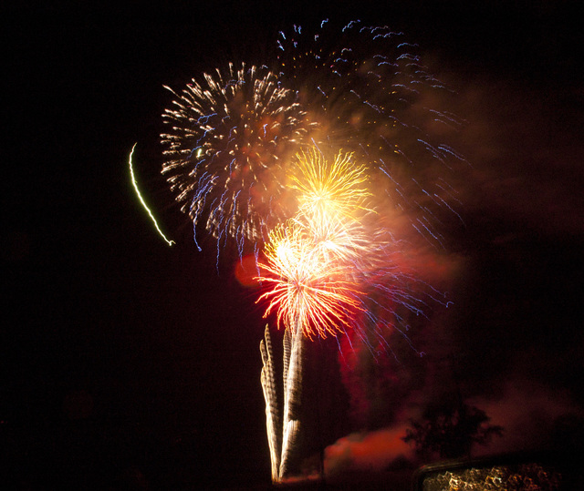 Postponed fireworks show will take place Saturday at Pyne Road Park